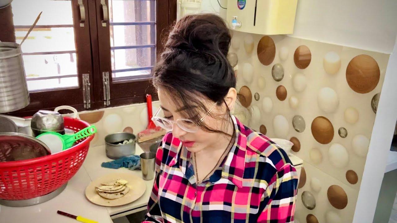 ਪ੍ਰੀਤ ਨੇ ਬਣਾਏ ਪਕੌੜੇ • Vlog-38 • Daily Vlogs • Bawan Preet Vlogs