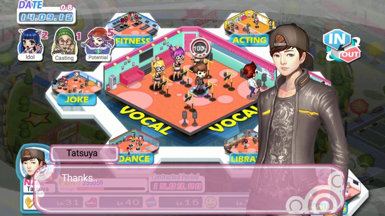 Love Idol Company - Tutorial 10 - Cara Upgrade Skill Idol (Bahasa Indonesia)