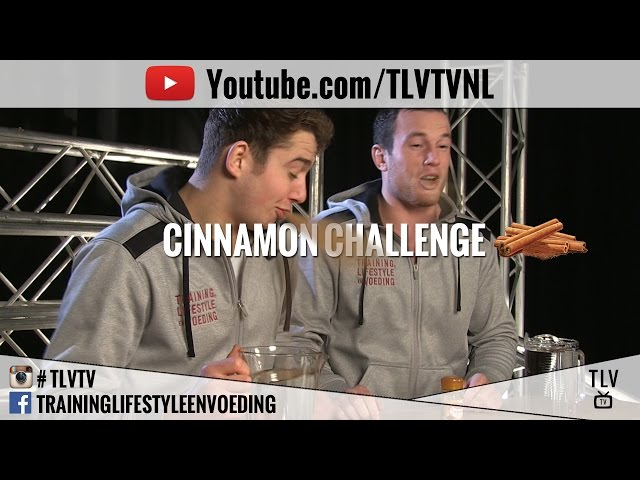 CINNAMON CHALLENGE TLV