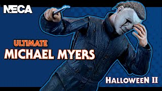 NECA Halloween 2 Ultimate Michael Myers | Video Review HORROR