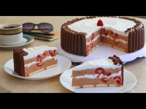 Plazma torta sa malinama ili jagodama. Najlepsa pravicete stalno