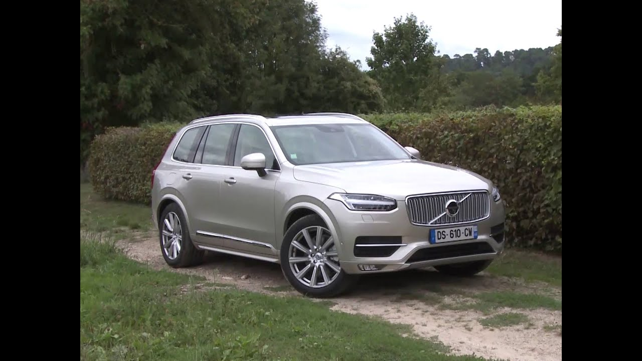 essai volvo xc90 t6 2015 youtube. Black Bedroom Furniture Sets. Home Design Ideas
