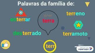 Famílias de palavras