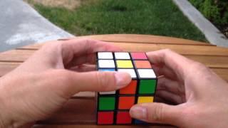 魔術方塊教學 - 初學者第一層