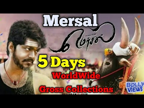 MERSAL South Indian Movie 5 Days WorldWide Box Office Collections | 1st Weekend | 5th Day