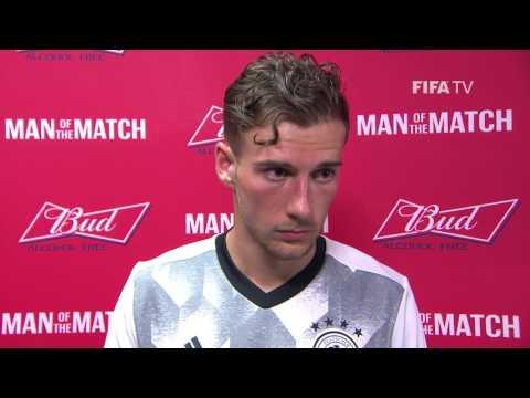 Leon Goretzka: FIFA Man of the Match  Match 14: Germany v Mexico