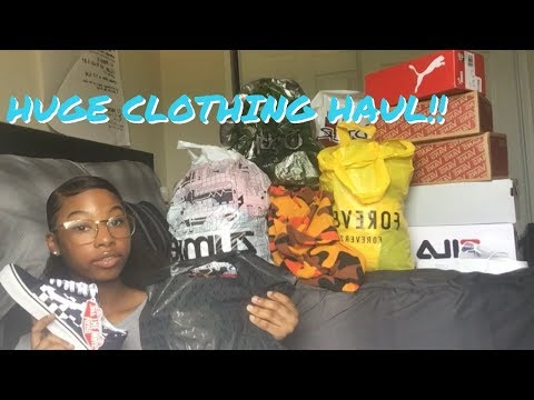 HUGE Back to School: Clothing Haul (try-on)Pt1