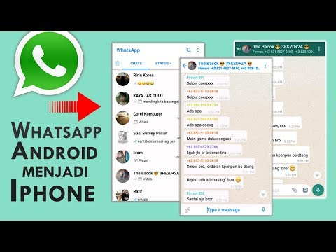 How to Change Whatsapp Display from Android to iPhone