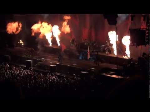 Rammstein - London 2012 - Intro And Sonne Part 2