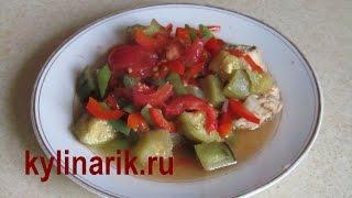 Овощное рагу с мясом. Рецепт рагу из овощей, с картошкой, с мясом от kylinarik.ru