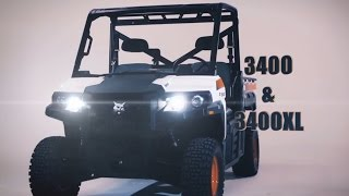 Bobcat 3400 & 3400XL Utility Vehicles: Built for Hard Work Thumbnail