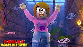 Roblox Escape The Sewer & The Floor Is Lava With Molly!