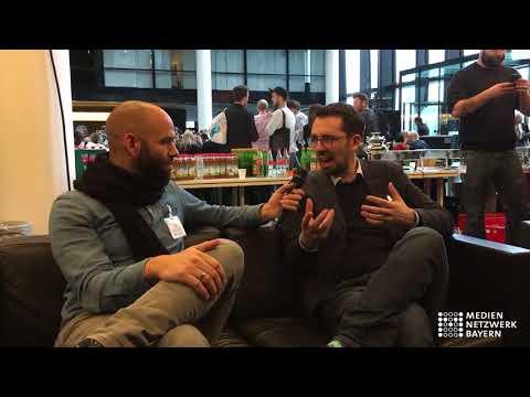 Interview mit Dirk von Gehlen, Süddeutsche Zeitung beim Digital Media Camp 2018