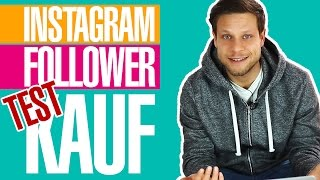 💡 Test: Instagram Follower kaufen 💡 | #FragDenDan