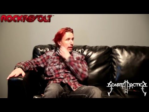 RockRevolt™Magazine, Radio & TV talks with Tony Kakko of Sonata Arctica