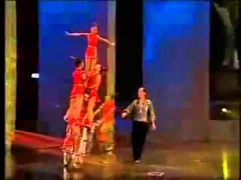 Circus Guide Entertainment Agency Chinese Entertainers Bike Acrobatics