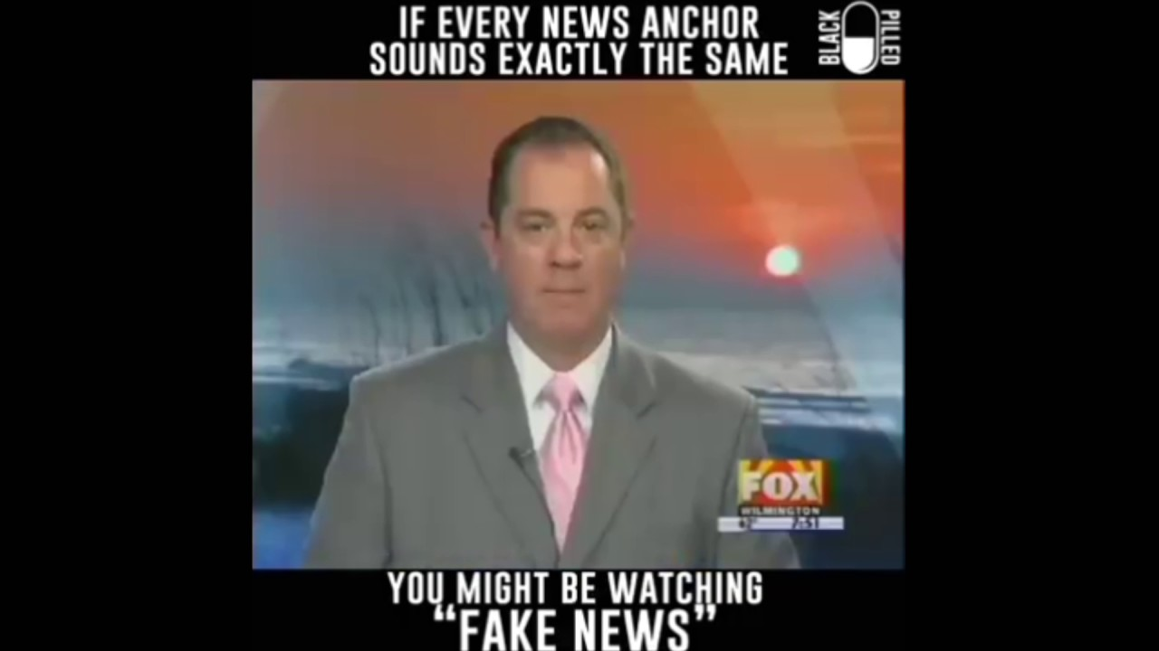 If Every News Anchor Sounds Exactly The Same! YOU MIGHT BE WATCHING