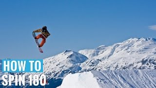 One of Snowboard Addiction's most viewed videos: How to 180 Jump on a Snowboard - (Regular) 180 Trick Tip