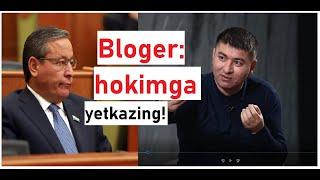 Iqtisodchi Hokimga: 3 Mln Andijonlik Sizni Boqyapti, Siz Ularni Emas!