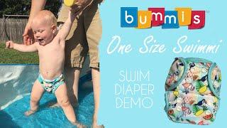 Bummis OS Swimmi Swim Diaper - #ClothDiapers DEMO / REVIEW