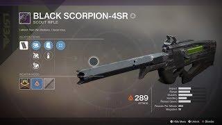 Break The Meta Mode Episode 1 (Black Scorpion-4SR)