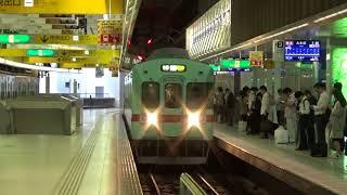 2017/10/14 西鉄天神駅 5122F