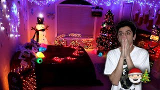 EXTREME CHRISTMAS ROOM MAKEOVER!! (INSANE)