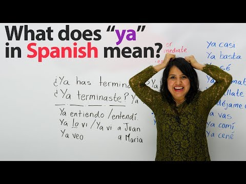 We will get through this in spanish