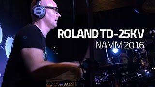 Roland TD-25KV Demo by Michael Schack - Drumeo NAMM 2016