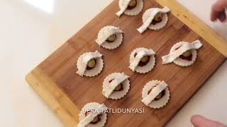 Zeytinli Minik Atıştırmalık Sepetler
