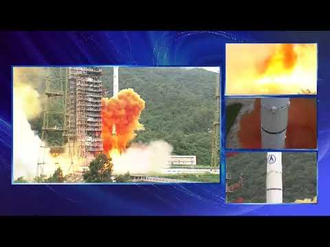 Blastoff! China launches Beidou Navigation Satellite-3