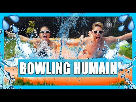 Download Youtube: BOWLING HUMAIN EXTRÊME! (Challenge Fruité) // P.O ET Marina