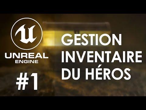 GESTION DE LINVENTAIRE - Tuto Unreal Engine 4 FR