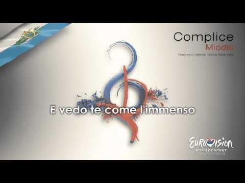 """Miodio - """"Complice"""" (San Marino)"""