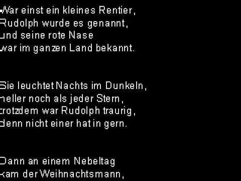 Rudolf Das Rentier Lied