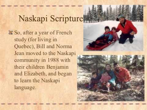 Naskapi New Testament Dedication