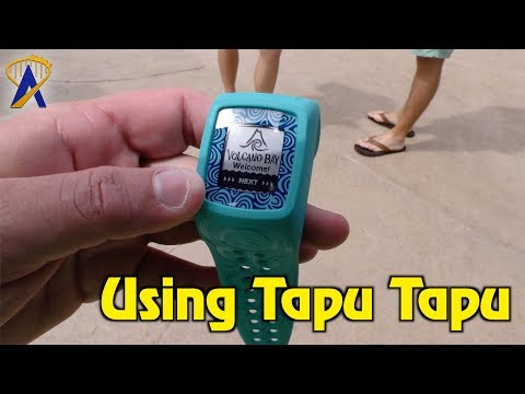 Using TapuTapu at Universal's Volcano Bay water park
