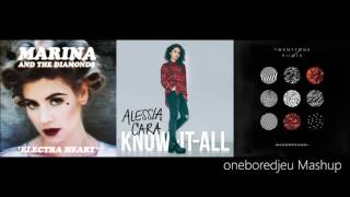 Alessia's Doubtful Lies - Marina & The Diamonds vs. Alessia Cara & twenty one pilots (Mashup)