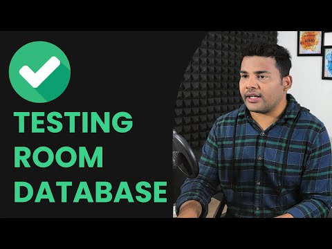 Android Unit Test Room Database