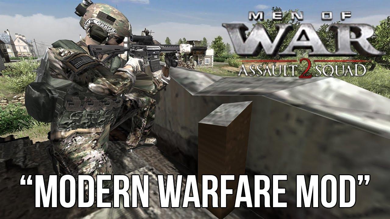 Men of war 2 assault squad моды скачать