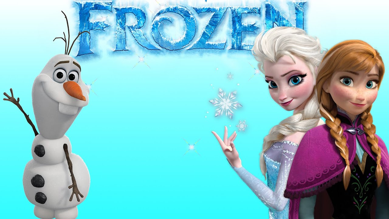 frozen wallpaper anna elsa olaf