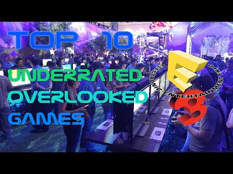 ASMR Gaming News | Top 10 Most Underrated and Overlooked E3 2017 Games (Soft Spoken Whispering)