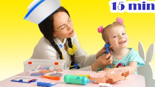 Doctor Chek up Song + more Nursery Rhymes by Sasha Kids Channel.