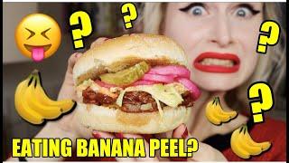 Can you eat BANANA PEEL? - Vegan Fooled Pork Sliders