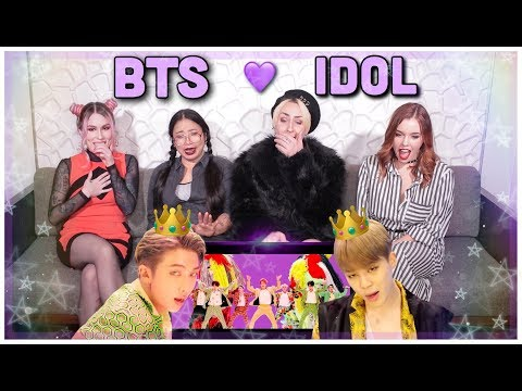 BTS (방탄소년단) 'IDOL' MV REACTION ft Savannah Grimm! THEY ARE KINGS