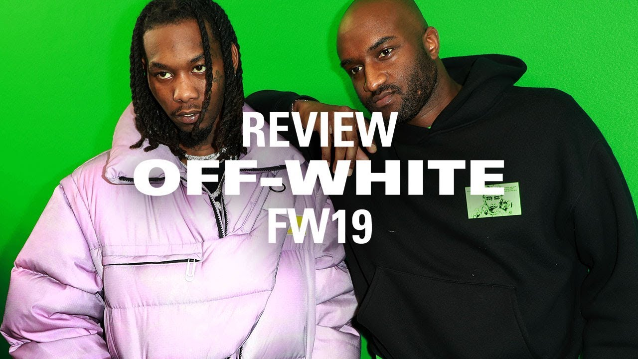 713b0dcc Celebrities Share Their Thoughts on OFF-WHITE's FW19 Collection ...