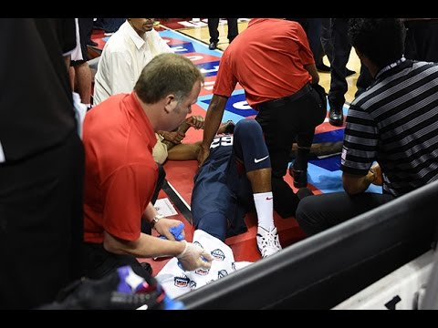 Who is to Blame for Paul George's Gruesome Injury on This Double Overtime