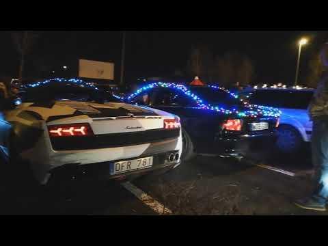 Karácsonyi Night Cruising Pécs 2018