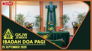 Mengampuni, Mengasihi Lebih Sungguh - Ibadah Doa Pagi, 25 September 2020