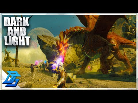Ark With MAGIC, Open World Sandbox RPG, Dragon/Beast Taming? - Dark And Light - Part 1 (Release)
